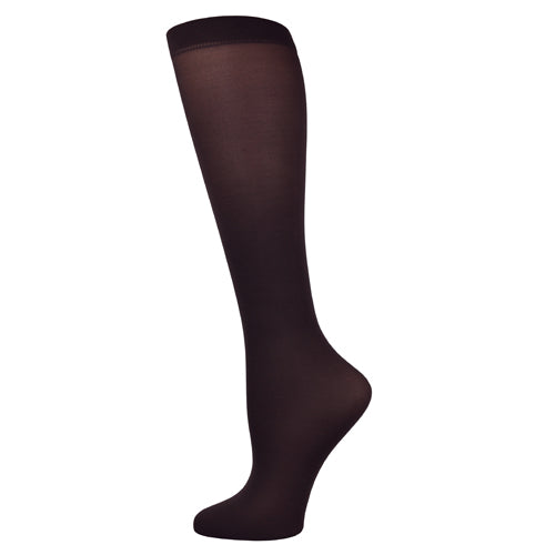 Blue Jay Fashion Socks (pr) Dark Chocolate 8-15mmhg