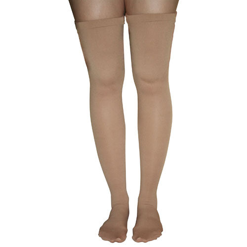 Anti-embolism Stockings Medium 15-20mmhg Thigh Hi  Closed Toe