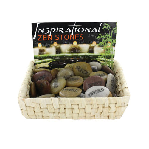 Inspirational Zen Stones Countertop Display  Pk-36