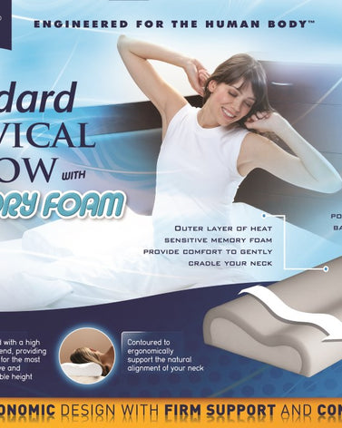Cervical Pillow  Standard W-memory Foam