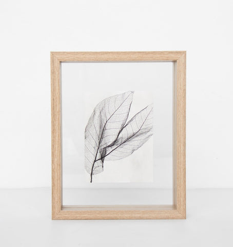 Photo frame floating - Small natural