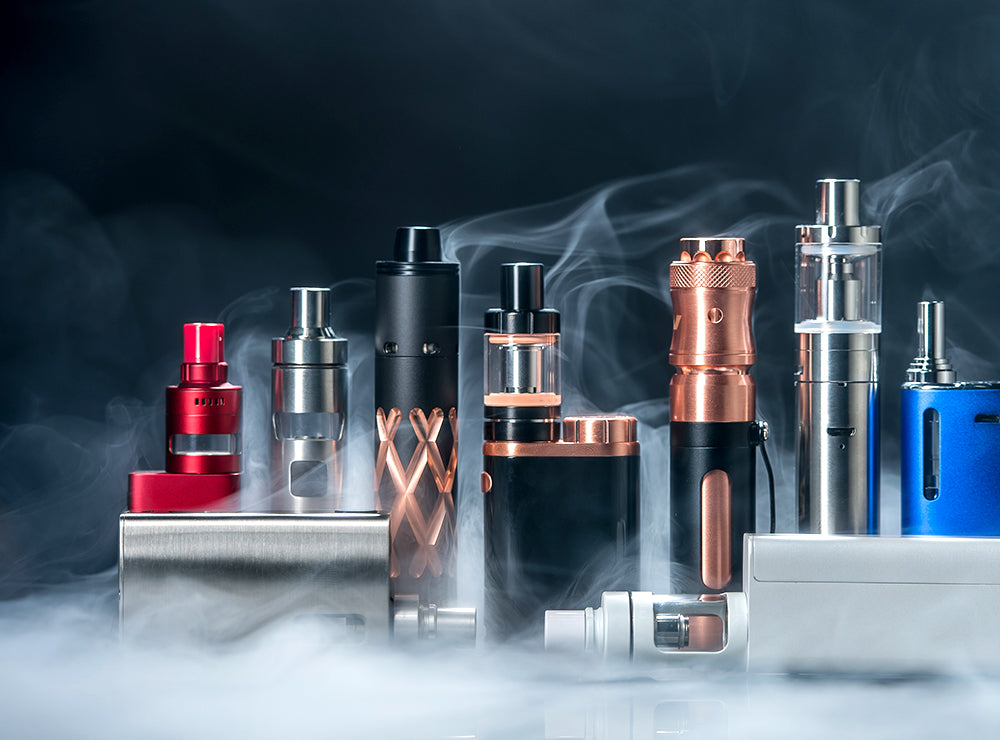 A Selection of Vape Devices