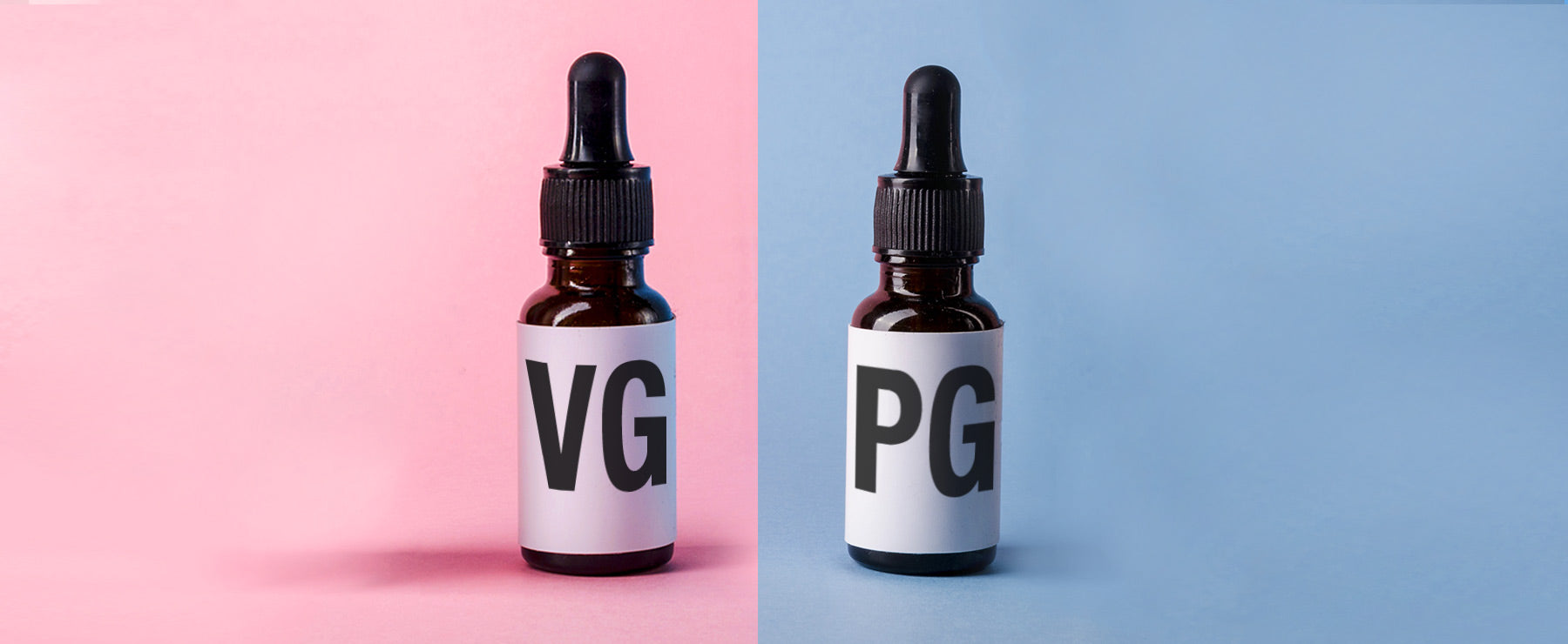 Bottle of VG and PG