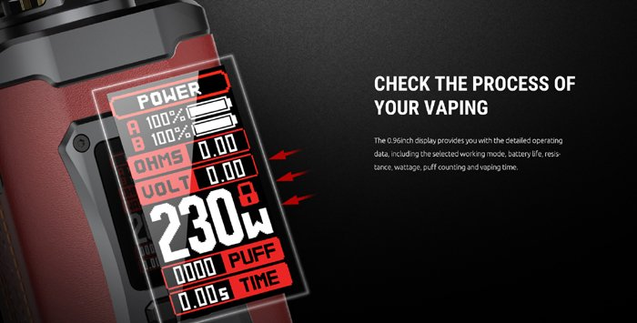 Check the process of your vaping