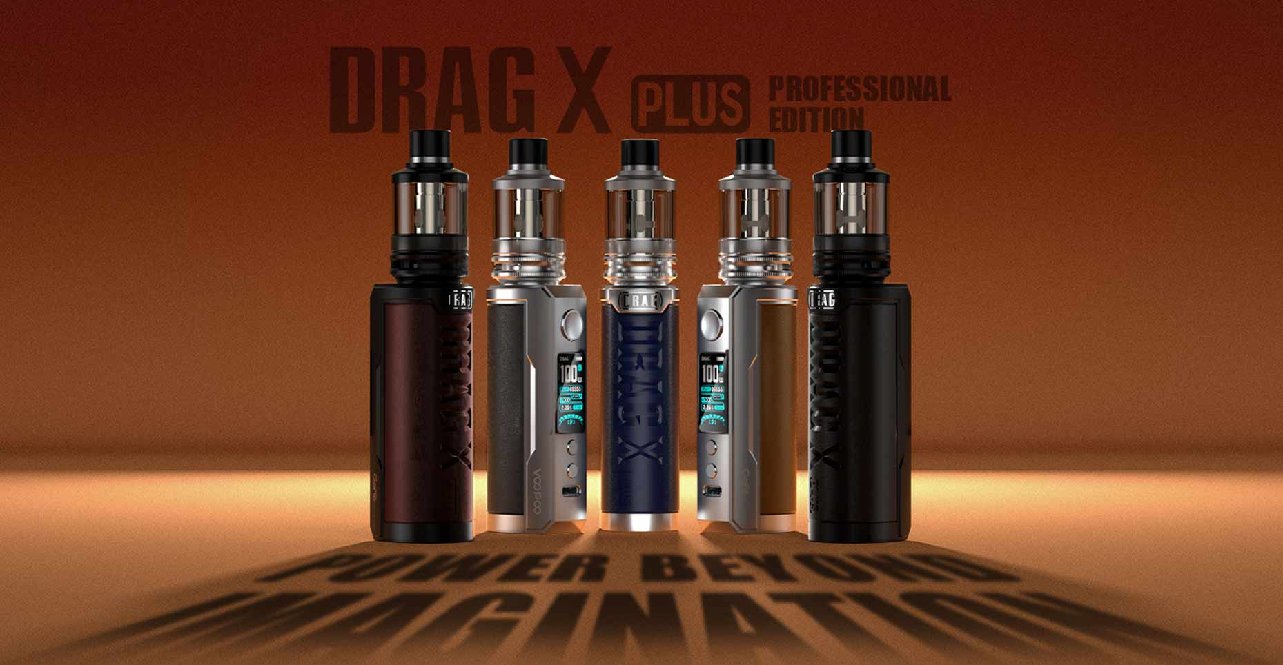 Drag X Plus Pro by Voopoo Banner