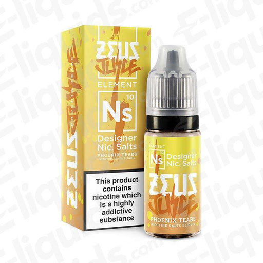 Phoenix Tears 10ml 10mg Nic Salt E-liquid by Zeus Juice