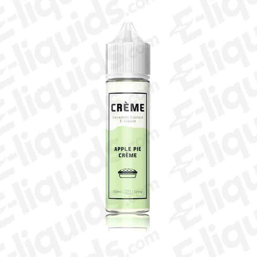 Apple Pie Creme Shortfill E-liquid by Creme