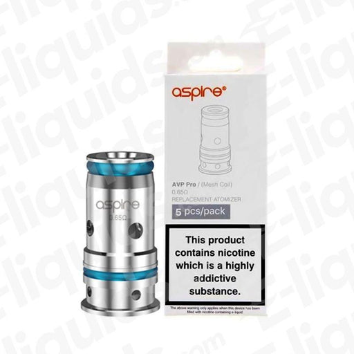 Aspire AVP Pro Replacement Vape Coils