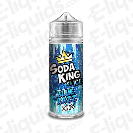 Soda King Blue Razz On Ice Shortfill E-liquid