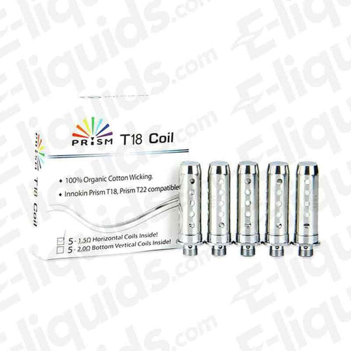 Prism T18 Replacement Vape Coils By Innokin