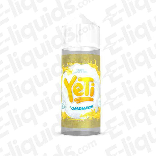 Yeti Lemonade Ice 100ml Shortfill E-liquid