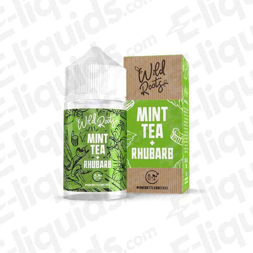Wild Roots Mint Tea And Rhubarb Shortfill E-liquid