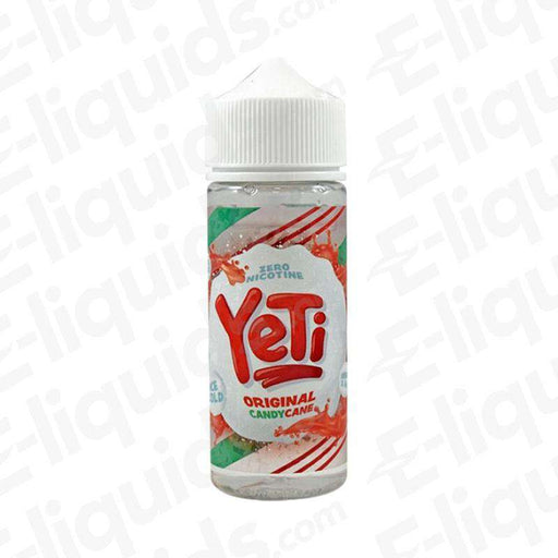Yeti Original Candy Cane 100ml Shortfill E-liquid