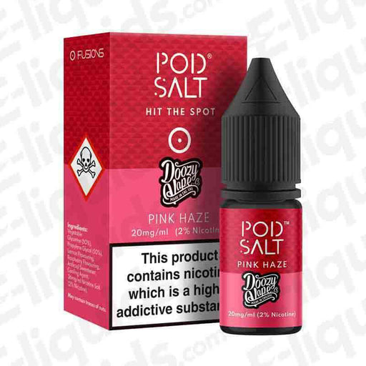 Pink Haze Fusion Nic Salt E-liquid by Pod Salt