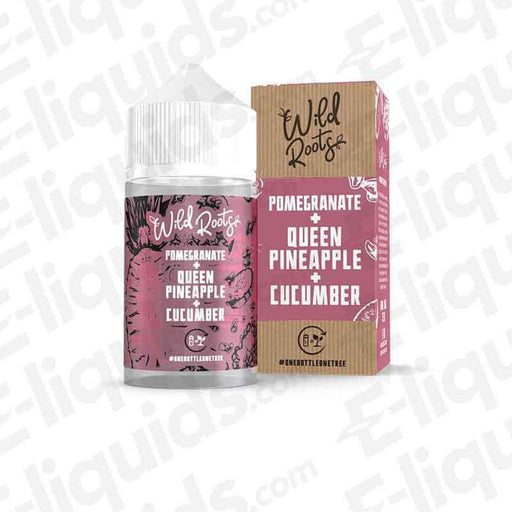 Wild Roots Pomegranate Shortfill E-liquid