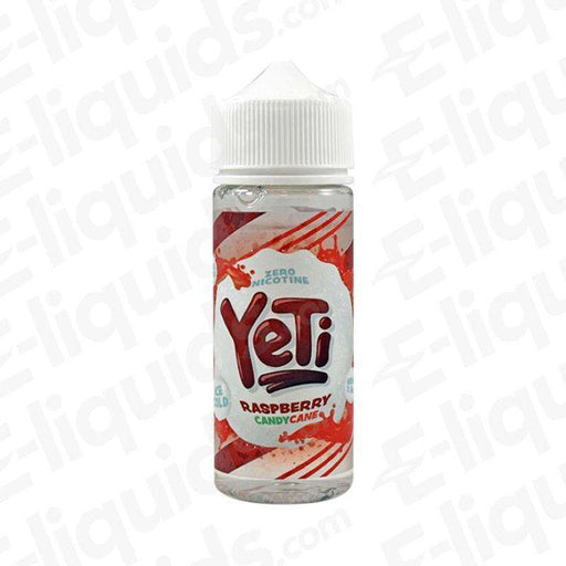 Yeti Raspberry Candy Cane 100ml Shortfill E-liquid