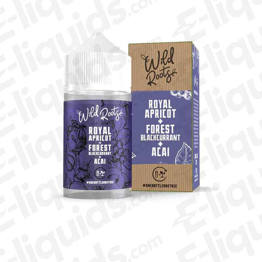 Royal Apricot Shortfill E-liquid by Wild Roots