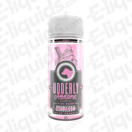Bubblegum Ice Cream Shortfill E-liquid by Udderly Amazing