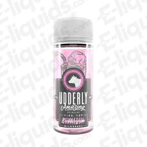 Bubblegum Milkshake Shortfill E-liquid by Udderly Amazing