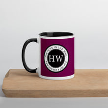 Load image into Gallery viewer, Hole in the Wall Mug with Color Inside