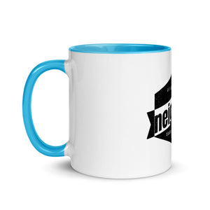 Neighborhood Mug with Color Inside