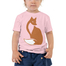 Load image into Gallery viewer, Fiona Foxtail Toddler Short Sleeve Tee