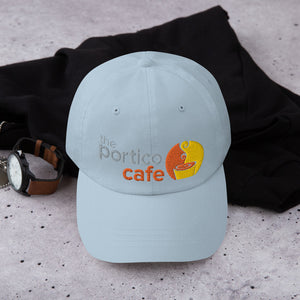 The Portico Cafe Dad hat