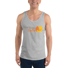 Load image into Gallery viewer, The Portico Cafe Unisex Tank Top