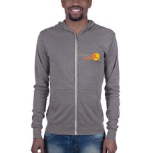 Load image into Gallery viewer, The Portico Cafe Lightweight Unisex zip hoodie