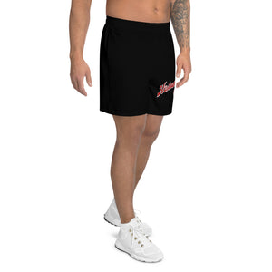 Cedar Springs Brewing Company Men's Athletic Long Black Shorts