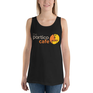 The Portico Cafe Unisex Tank Top