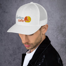 Load image into Gallery viewer, The Portico Cafe Trucker Cap
