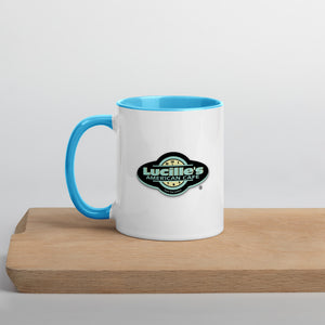 Lucille's Mug with Color Inside