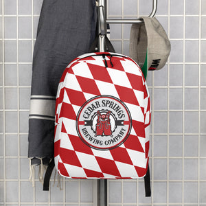 Cedar Springs Brewing Company Minimalist Backpack