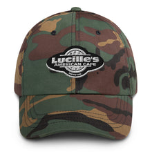 Load image into Gallery viewer, Lucille's American Cafe Dad hat