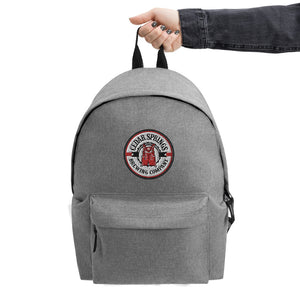 Cedar Springs Brewing Company Embroidered Backpack