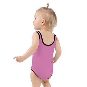 Old Cedar Creek Soda All-Over Print Kids Swimsuit