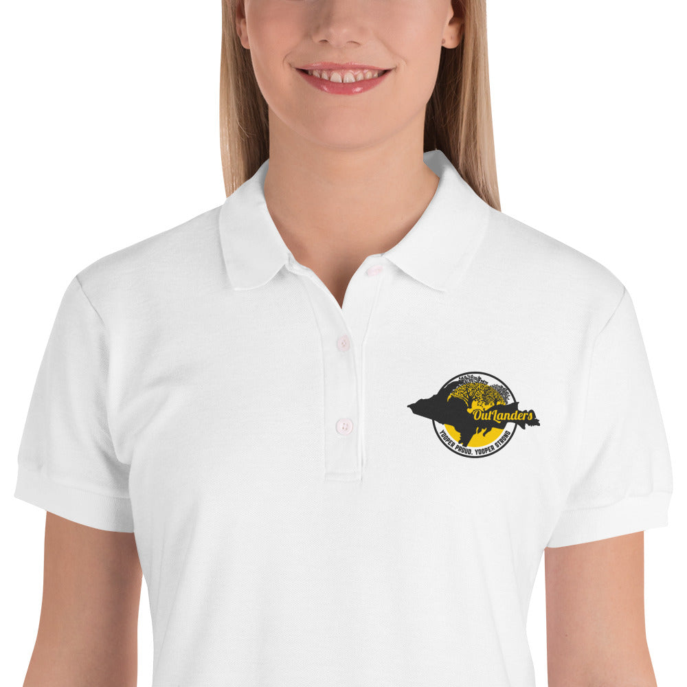 OutLanders Embroidered Women's Polo Shirt