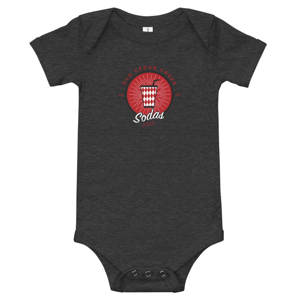 Old Cedar Creek Soda Onesie