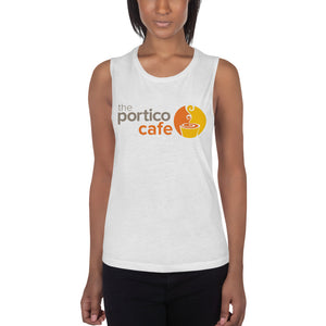 The Portico Cafe Ladies' Muscle Tank