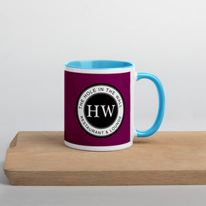 Hole in the Wall Mug with Color Inside