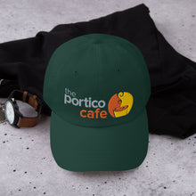 Load image into Gallery viewer, The Portico Cafe Dad hat