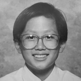 Portrait of Dirty Labs co-founder David Watkins as a child.