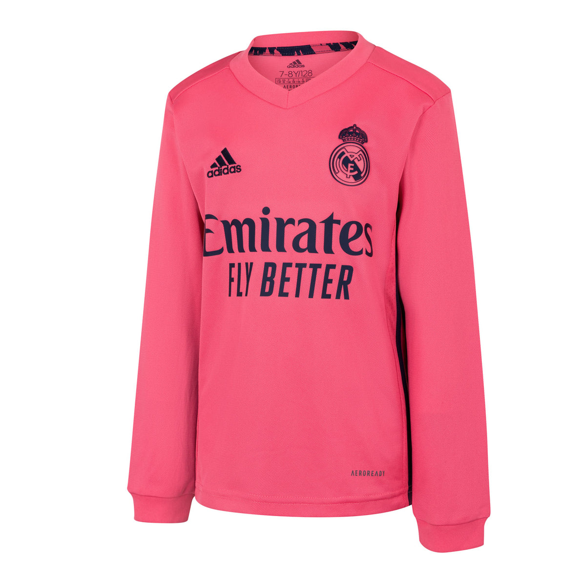 Real Madrid Youth Away Long Sleeved Jersey 20 21 Pink Real Madrid Cf Eu Shop