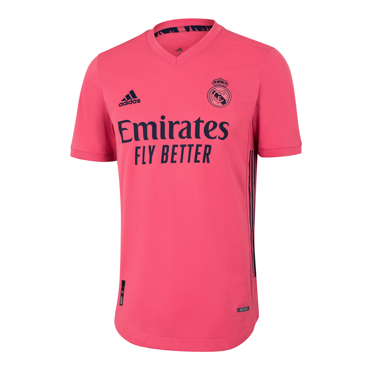 Mens Real Madrid Away Authentic Shirt 20 21 Pink Real Madrid Cf Eu Shop