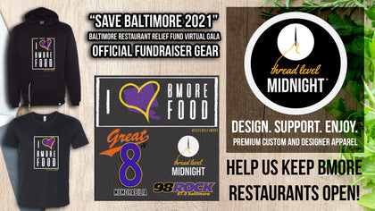 """SAVE BALTIMORE"" - Baltimore Restaurant Relief Virtual Gala"