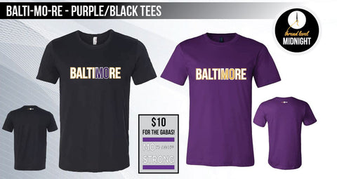 BaltiMOre - Purple/Black Tees