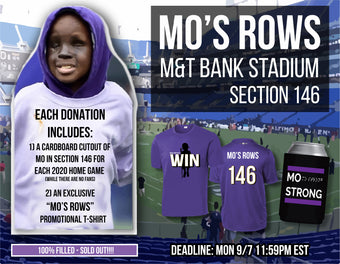 """""""Mo's Rows"""" Ravens Community of Fans Cutout Promotion - SOLD OUT!!!!!!!"""