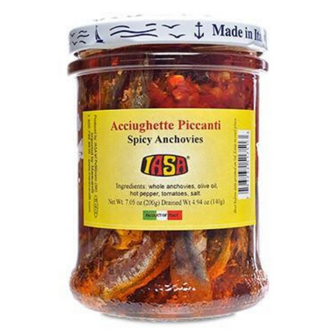 IASA Spicy Anchovies in Olive Oil - 200g