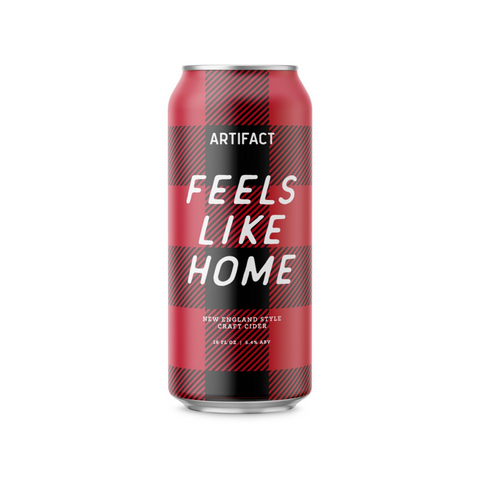 Artifact Cider Feels Like Home - 16oz/4pk